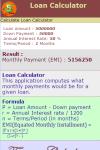 Loan Calculator v1 screenshot 3/3