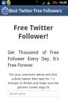 Free Twitter follower screenshot 2/4