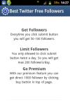 Free Twitter follower screenshot 3/4