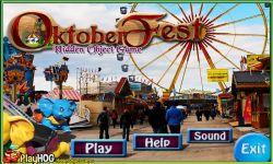 Free Hidden Object Games - Oktoberfest screenshot 1/4