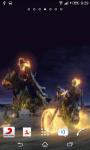 Ghost Rider Bike race Live Wallpaper screenshot 1/3