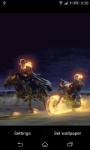 Ghost Rider Bike race Live Wallpaper screenshot 2/3