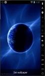 Blue Earth Final Live Wallpaper  screenshot 1/2
