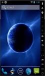 Blue Earth Final Live Wallpaper  screenshot 2/2