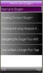 GooglePlus guide screenshot 1/1