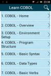 Learn COBOL screenshot 1/3
