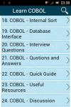 Learn COBOL screenshot 2/3