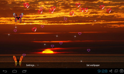 3D Sunset Live Wallpaper screenshot 3/5