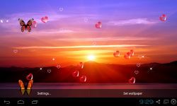 3D Sunset Live Wallpaper screenshot 4/5