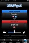Lingopal Danish LITE - talking phrasebook screenshot 1/1