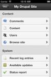 Drupad - Drupal on the go screenshot 1/1