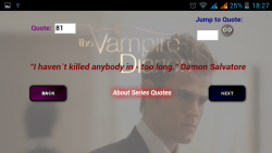 Vampire Diaries Quotes screenshot 1/3