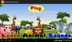 Learning Animal Sounds screenshot 1/6