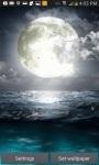 FULL MOON OCEAN LWP screenshot 1/3