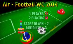 Air Football 2014 screenshot 1/4