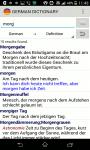 Advanced German Dictionary screenshot 2/3