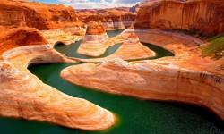 Amazing Grand Canyon Lake Live Wallpaper  screenshot 2/6
