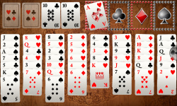 Ultimate FreeCell Solitaire screenshot 1/6