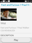 Youtube Search for Java Phone screenshot 4/6