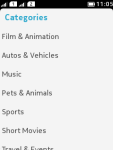 Youtube Search for Java Phone screenshot 6/6