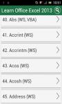 Learn MS Excel 2013 screenshot 2/3