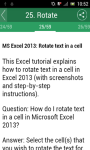Learn MS Excel 2013 screenshot 3/3