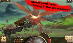 Monster Car Hill Racer 2  screenshot 2/5