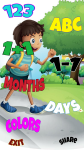 Kids Learning Alphabets Numbers Days Colours screenshot 1/6