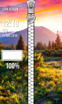 Nature Zipper Lock Screen Free screenshot 4/6