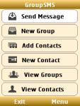 Group SMS App screenshot 1/4