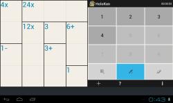 Holoken Mathdoku screenshot 2/6