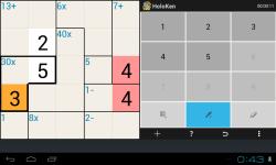 Holoken Mathdoku screenshot 3/6
