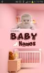 Modern Baby Names screenshot 1/4