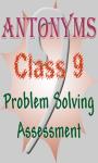 Class 9 - Antonyms screenshot 1/3