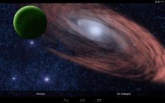Rotating Planet Live Wallpaper screenshot 2/5