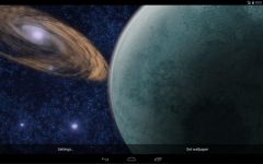 Rotating Planet Live Wallpaper screenshot 4/5