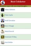 Best Cricketer screenshot 2/3