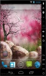 Flowing Sakura Live Wallpaper screenshot 2/2