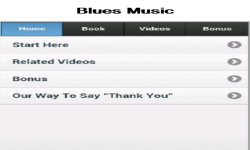 Blues Music App screenshot 1/3