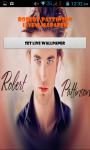 Robert Pattinson Live Wallpaper Best screenshot 1/4