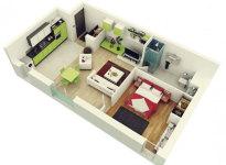 1 Bedroom Apartment/House Plans screenshot 5/5