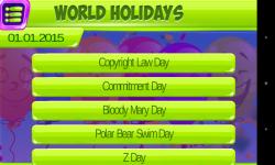 Holidays Of The World screenshot 1/5