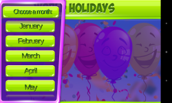 Holidays Of The World screenshot 3/5