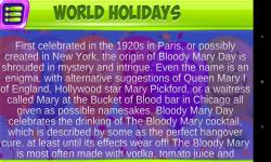 Holidays Of The World screenshot 5/5