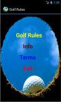 Golf Rules N Tips screenshot 2/3