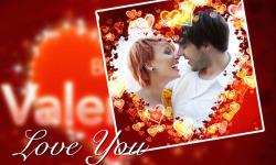 Valentine Photo Frame Love screenshot 1/6