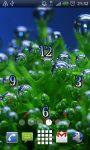 Abstract Bubbles Clock Live Wallpaper screenshot 1/2