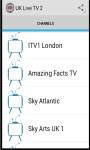 UK TV 2 screenshot 1/3