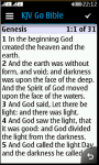 JAVA KJV Bible screenshot 1/3
