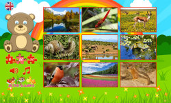 Puzzles for kids: nature screenshot 2/6